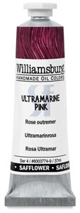 Williamsburg Handmade Safflower Oil Color, Ultramarine Pink