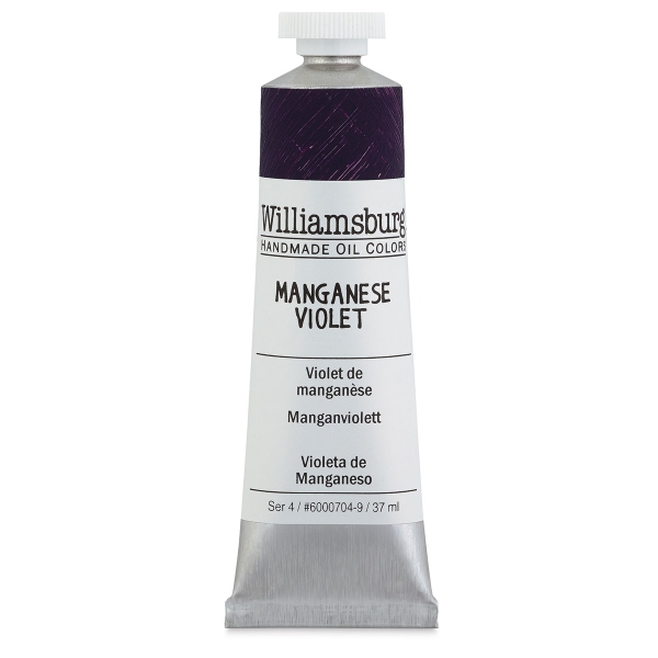Williamsburg Handmade Oil Paint, 37 ml Tube, Manganese Violet
