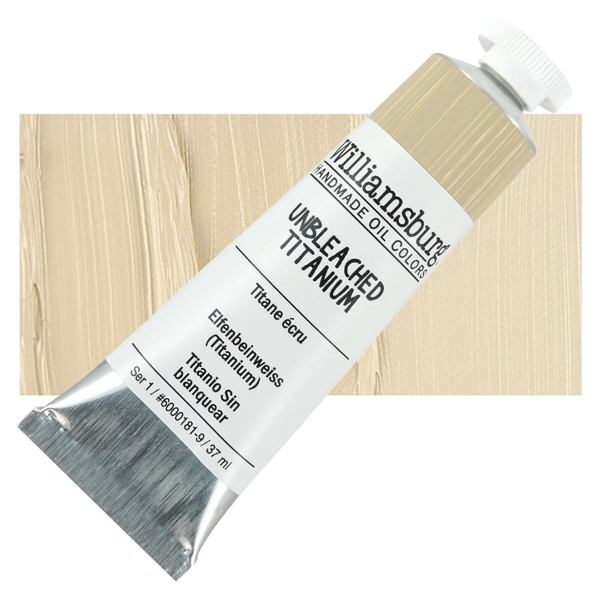 Unbleached Titanium White Paint