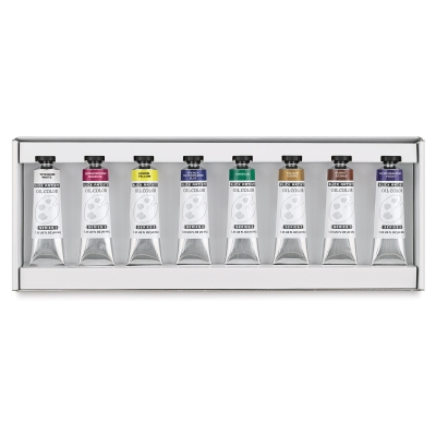Blick Artists' Oil Colors,  8-Color Set