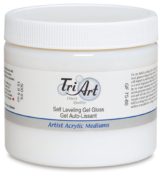 Self Leveling Gel, Gloss, 500 ml