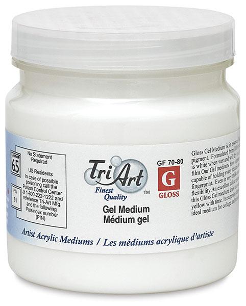 Semi-Gloss Gel, 250 ml