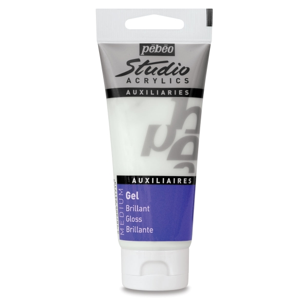 Pebeo Studio Acrylic Gel Medium, Gloss Gel