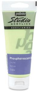 Phosphorescent Gel, Yellow
