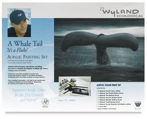 Great White Whale Tail Painting Kit