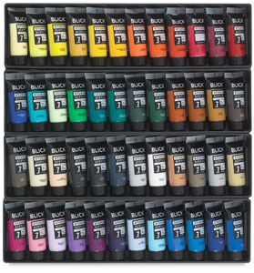 Blick Studio Acrylics - Set of 48 colors, 21 ml tubes