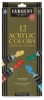 Acrylic Paint, Set of 12 Tubes