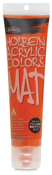 Mat Acrylic, Vermilion Hue