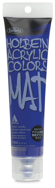 Mat Acrylic, Ultramarine Deep