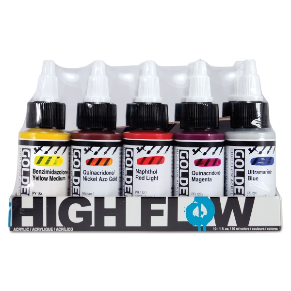 High Flow Colors, Set of 10