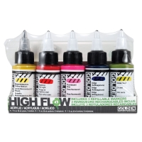 High Flow Acrylic Marker Set