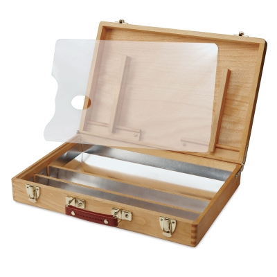 Wooden Acrylic Paint Box