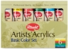 Utrecht Artists' Acrylic Colors, Basic Set
