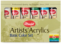 Utrecht Artists' Acrylic Colors and Sets