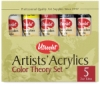 Utrecht Artists' Acrylic Colors, Color Theory Set