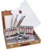Utrecht Artists' Acrylic Colors, Contents of Deluxe Easel Set