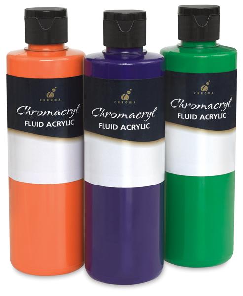 Chromacryl Fluid Acrylics