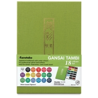 Kuretake Gansai Tambi Watercolor Assorted Set of 18