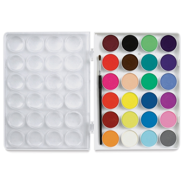 Sargent Watercolor Cakes, Set of 24