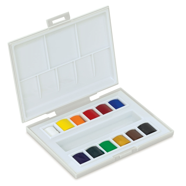 La Petite Aquarelle Watercolor, Set of 12 Half Pans