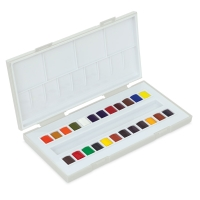 La Petite Aquarelle Watercolor, Set of 24 Half Pans