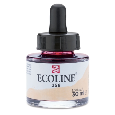 Ecoline Watercolor, Apricot, 30 ml bottle