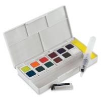 Inktense Paint Pan Travel Set, Palette 02