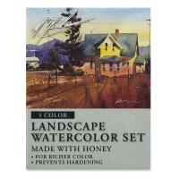 M. Graham Artists' Watercolors, Landscape Set
