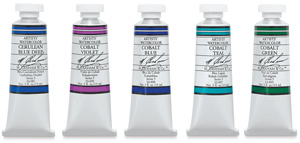 M. Graham Artists' Watercolors, Cobalt Set