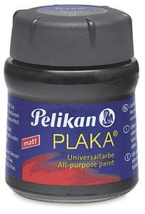 Plaka Paint, Black