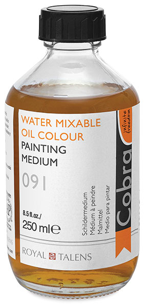 Painting Medium, 250 ml Bottle
