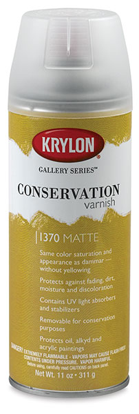 Conservation Varnish, Matte