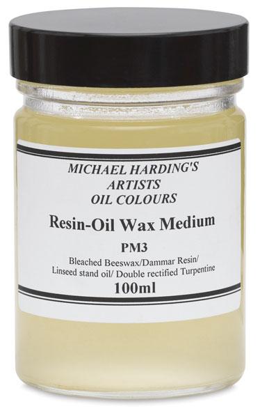 Resin-Oil Wax Medium