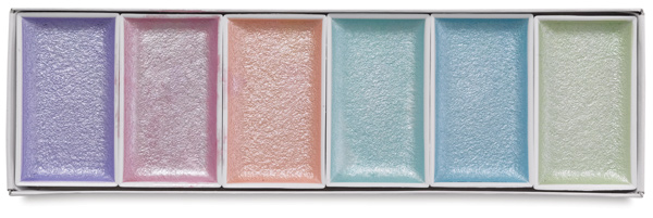 Pearlescent Colors, Set of 6