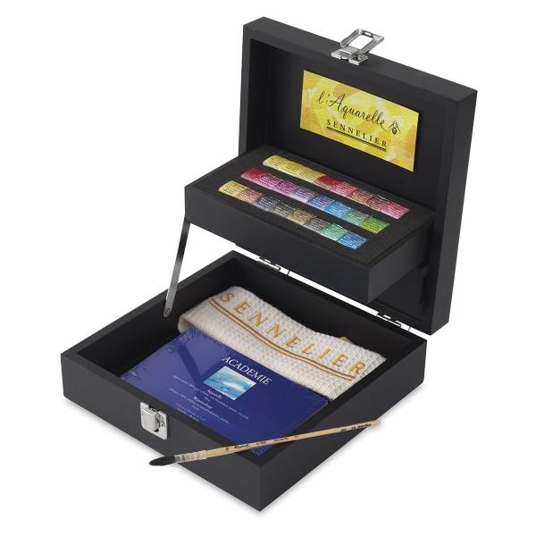 Wood Box Set of 24