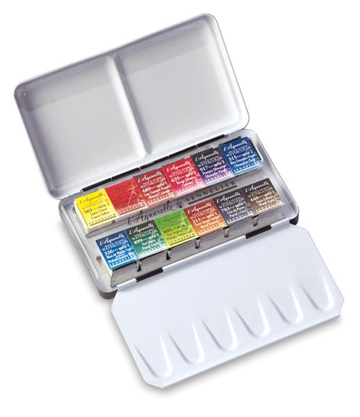 Half Pan Metal Pocket Box, Set of 12