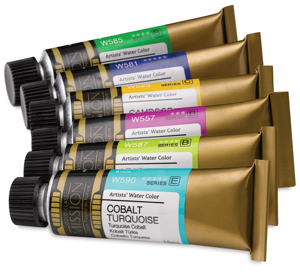 Mission Gold Watercolors