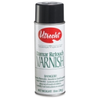 Damar Retouch Varnish Spray