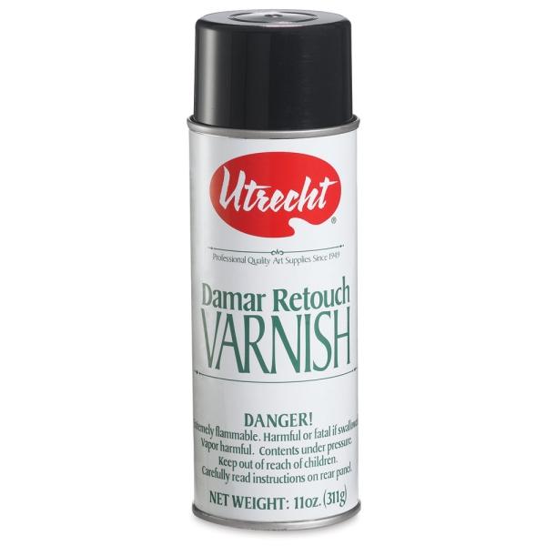 Damar Retouch Varnish Spray