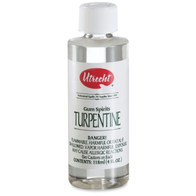 Pure Gum Turpentine, 4 oz
