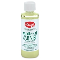 Matte Oil Varnish, 4 oz