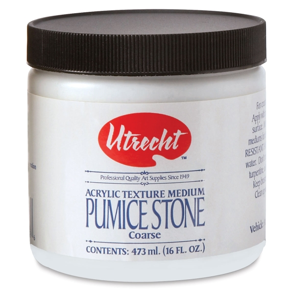 Pumice Stone Gel Medium