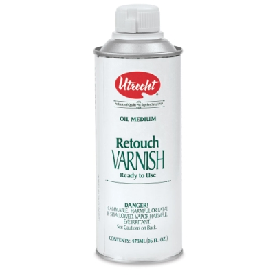 Retouch Varnish, 16 oz