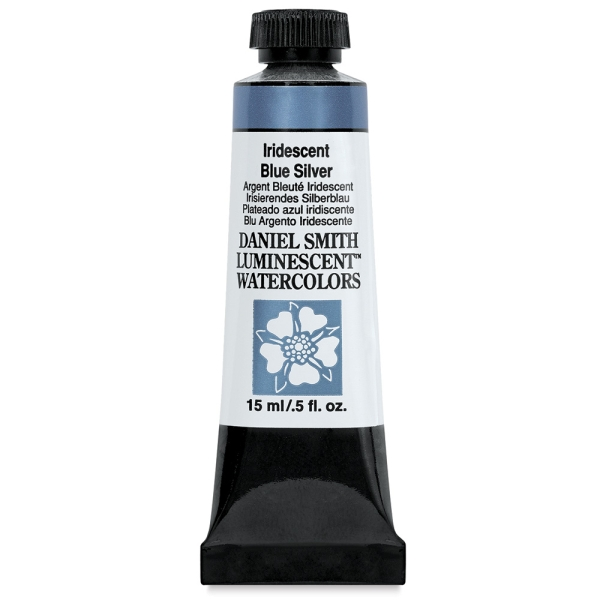 Daniel Smith Luminescent Watercolor, Iridescent Blue Silver