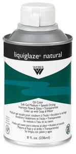Liquiglaze Natural Oil Medium, 8 oz Bottle