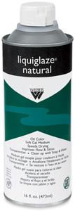Liquiglaze Natural Oil Medium, 16 oz Bottle