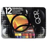 QoR Modern Watercolors, Introductory Set of 12