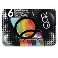 QoR Modern Watercolors, High Chroma Set of 6