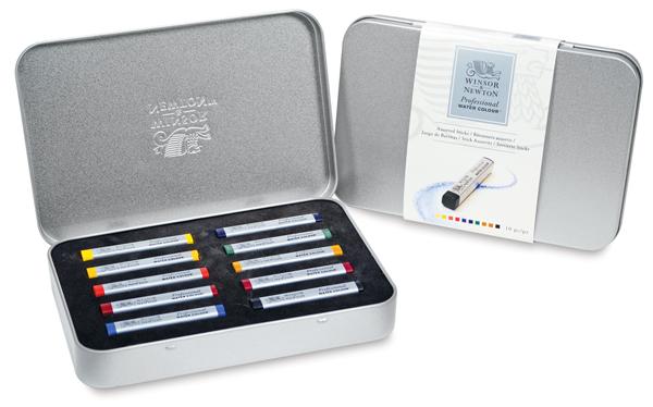 Winsor & Newton Professional Watercolor Sticks, Set of 10