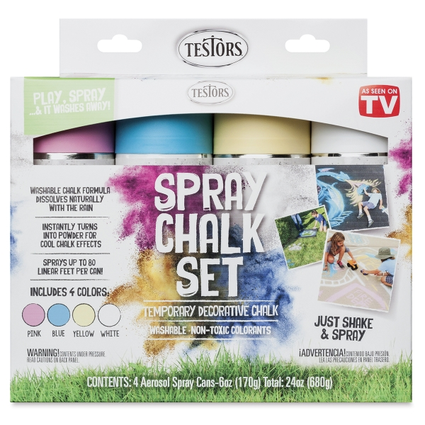 Spray Chalk Set